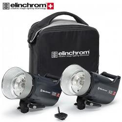 Studio flash kits - Elinchrom ELC Pro HD 500/500 To Go Set EL-20662 - quick order from manufacturer