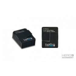 Action kameru aksesuāri - Gopro Hero3 baterija lādējama battery AHDBT-301 - perc šodien veikalā un ar piegādi