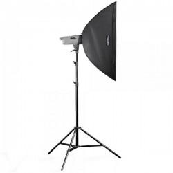 Studijas zibspuldžu komplekti - walimex pro Studio Set VE-150 Excellence - ātri pasūtīt no ražotāja