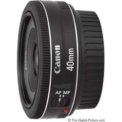 Объективы - Canon LENS EF 40MM F2.8 STM (EUR) - купить сегодня в магазине и с доставкой