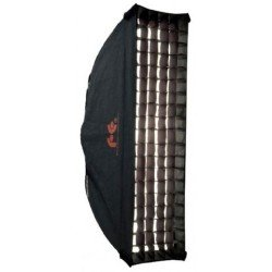 Softboksi - Falcon Eyes Softbox 30x120 cm + Honeycomb Grid FER-SB30120HC - ātri pasūtīt no ražotāja