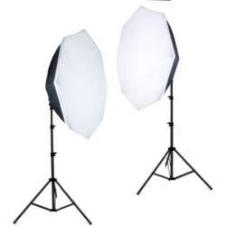 Флуоресцентный - Falcon Eyes Daylight Set LHDK-2B455 - купить сегодня в магазине и с доставкой