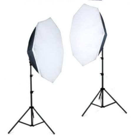 Флуоресцентное освещение - Falcon Eyes Daylight Set LHDK-2B455 - купить сегодня в магазине и с доставкой