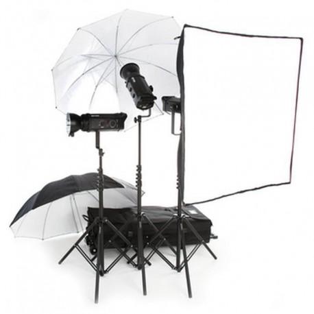 Studijas zibspuldzes - Bowens 500Pro/500Pro/750+ zibspuldžu komplekts noma