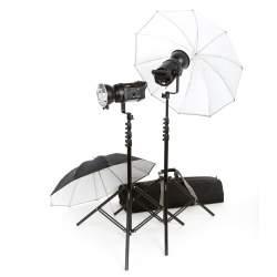 Studijas zibspuldzes - Studijas gaismu 500/500Pro/500Pro/750Plus komplekts noma