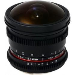 Объективы и аксессуары - Samyang 8mm T3.8 Asph IF MC Fisheye CSII DH VDSLR аренда