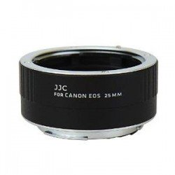 Bezmaksas piedāvājumi - JJC AET-C25 25mm macro gredzens ar auto-fokusa funkciju Canon kamerām noma