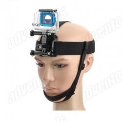 Action Cameras - Plikas galvas stiprinājums GoPro kamerai ar zoda siksniņu rent