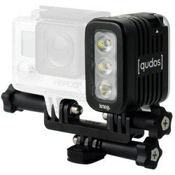 """Action"" kameras - Knog Qudos LED gaisma black noma"