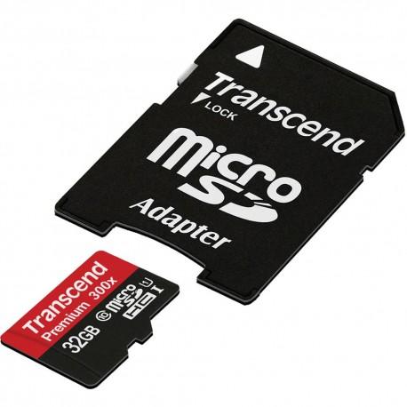 Atmiņas kartes - Transcend SDHC/SDXC UHS-I 32GB micro SD atmiņas karte 400x ar SD adapteri class 10 - perc veikalā un ar piegādi