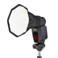 Aksesuāri zibspuldzēm - Jinbei e-20 Octagonal Softbox for camera flash - perc šodien veikalā un ar piegādi