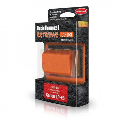 Kameru akumulatori - Hahnel DC baterija LP-E6N Extreme CANON HLX-E6N - perc šodien veikalā un ar piegādi