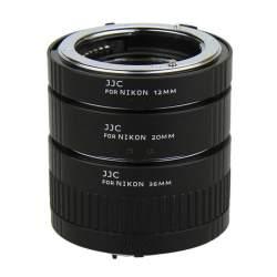 Makro aksesuāri - JJC AET-NS 12mm,20mm and 36mm Nikon F macro gredzenu komplekts ar auto-fokusa funkciju - perc veikalā un ar piegādi