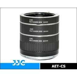 Makro aksesuāri - JJC AET-CS 16mm, 25mm, 36mm macro gredzenu komplekts ar auto-fokusa funkciju Canon kamerām - perc šodien veikalā un ar piegādi