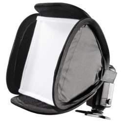 Aksesuāri zibspuldzēm - Walimex Magic Softbokss 23x23cm kameras zibspuldzei Nr.18355 - perc veikalā un ar piegādi