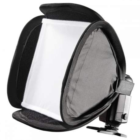 Aksesuāri zibspuldzēm - Walimex Magic Softbokss 23x23cm kameras zibspuldzei Nr.18355 - perc šodien veikalā un ar piegādi