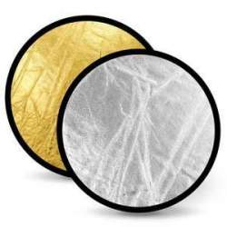 Foldable Reflectors - Linkstar Reflector 2 in 1 R-110GS Gold/Silver 110 cm - buy today in store and with delivery