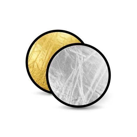Foldable Reflectors - Linkstar Reflector 2 in 1 R-110GS Gold/Silver 110 cm - quick order from manufacturer