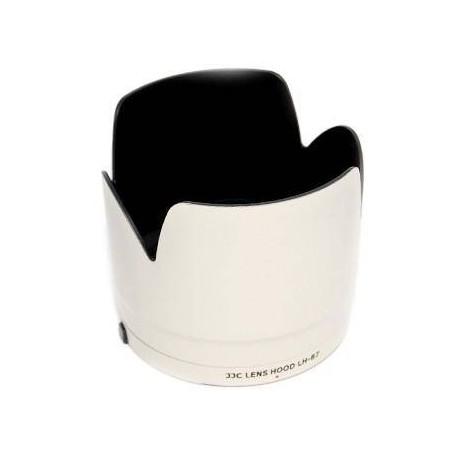 Blendes - JJC LH-87 replaces CANON Lens Hood ET-87 - perc šodien veikalā un ar piegādi