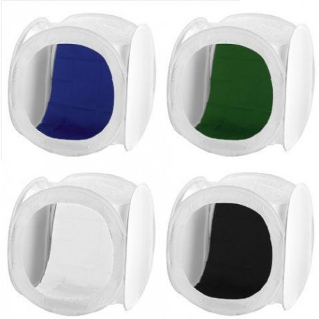 Light Cubes - Falcon Eyes Photo Tent LFPB-2 60x60 Foldable - buy today in store and with delivery