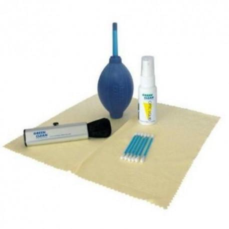 Foto kameras tīrīšana - Green clean CS-1500 tīrīšanas kompl. (lupatiņa, otiņa, pūslis putekļu nopūšanai) Cleaning Kit - perc veikalā un ar piegādi