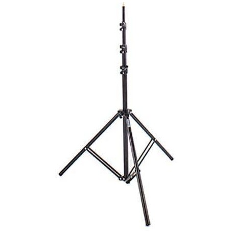 Discontinued - Bowens BLACK COMPACT STAND Max height 303cm Closed 87cm (used in most R and
