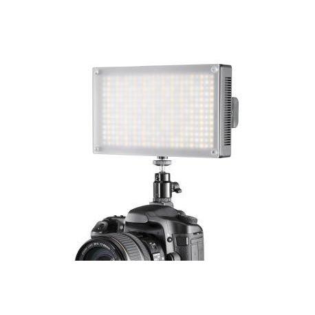 LED uz kameras - walimex pro LED Video gaisma Bi-Color ar 312 LED diodēm Nr.17813 - ātri pasūtīt no ražotāja