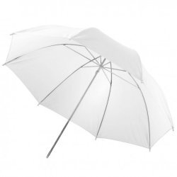 Umbrellas - walimex Translucent Light Umbrella white, 84cm - buy today in store and with delivery