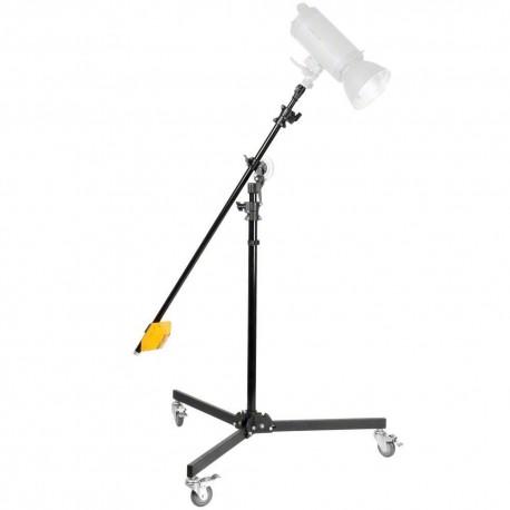 Boom - Walimex žirafe studijas gaismai / wheeled boom stand with counterweight nr.17036 - ātri pasūtīt no ražotāja