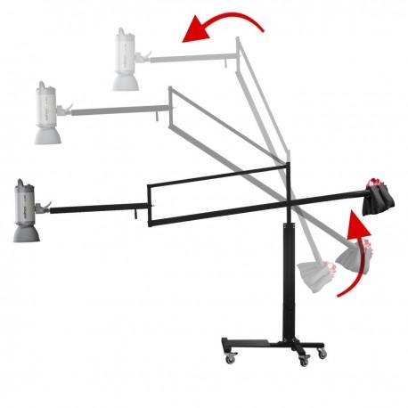 Boom - walimex žirafes gaismas statīvs (balance boom stand) 16241 - ātri pasūtīt no ražotāja