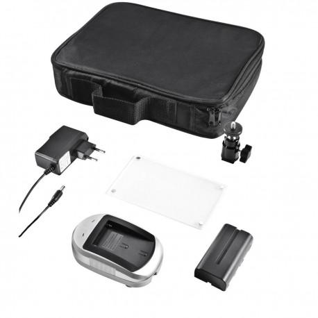 LED uz kameras - walimex pro LED Video Light Bi-Color 209 LED Item number: 17770 - ātri pasūtīt no ražotāja