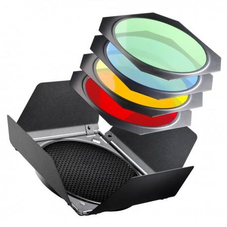 Рефлекторы - walimex Barndoors/Honeycombs/Colour Filter Set - купить сегодня в магазине и с доставкой