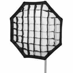 Softboksi - walimex pro Softbox PLUS 90cm diametra oktaboks / octabox ar šūnām 16176 - ātri pasūtīt no ražotāja