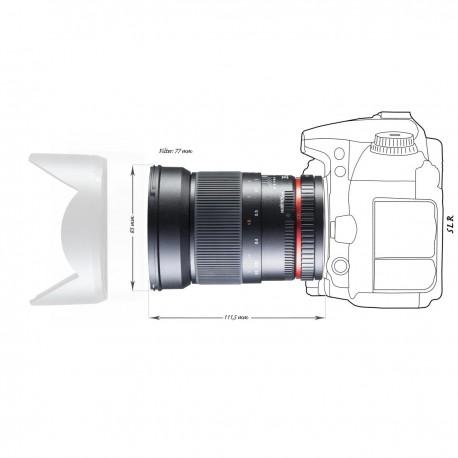 Объективы - walimex pro 35/1,4 DSLR Canon EF black - быстрый заказ от производителя