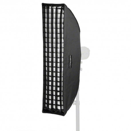 Softboxes - walimex pro Striplight PLUS 25x90 Aurora/Bowens - quick order from manufacturer