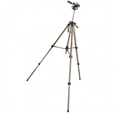 Photo Tripods - Walimex WT-3530 Basic-Tripod 3D-Panhead 146cm bronze - buy today in store and with delivery