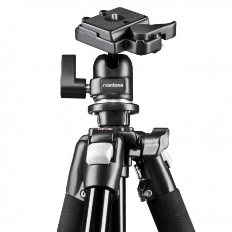 Photo Tripods - mantona Scout Tripod with Ball Head - quick order from manufacturer