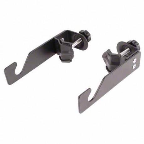 Держатели для фонов - walimex Background Hook with Clamps, set of 2 - быстрый заказ от производителя