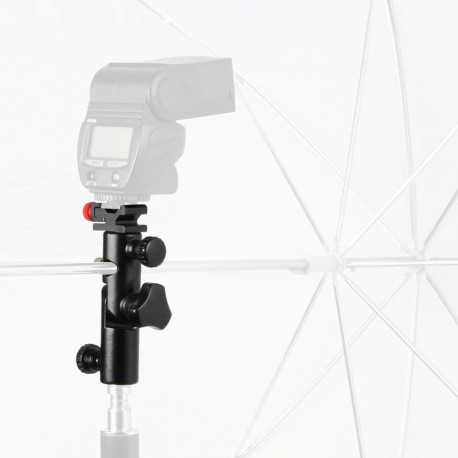 Acessories for flashes - walimex Metal Flash and Umbrella Holder - quick order from manufacturer