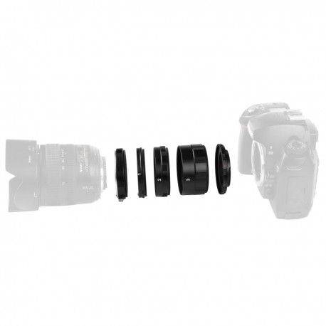 Macro - walimex pro Macro Intermediate Ring Set for Nikon - quick order from manufacturer