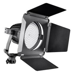 LED прожекторы - walimex pro LED Spotlight XL + Barndoors - купить сегодня в магазине и с доставкой