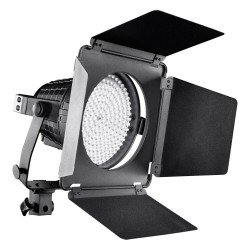 LED Floodlights - walimex pro LED Spotlight XL + Barndoors - buy today in store and with delivery