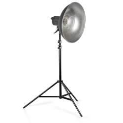 Halogēnās apgaismojums - Studioset Quartz Light VC-1000Q+Beauty Dish+WT-806  - ātri pasūtīt no ražotāja