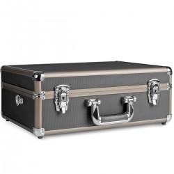 Кофры - mantona Photo Suitcase Basic M, black/brown - купить сегодня в магазине и с доставкой