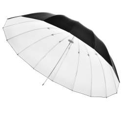 Umbrellas - walimex Reflex Umbrella black/white, 180cm - buy today in store and with delivery