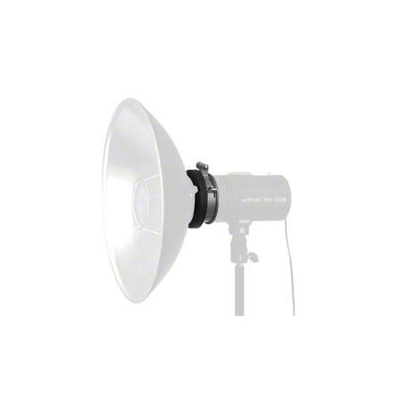 Reflectors - walimex S-Bayonet Adapter f. Studio Flashes, 9,5cm - quick order from manufacturer