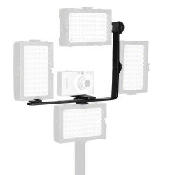 Turētāji - walimex Auxiliary Corner Bracket for Video Light Nr. 16527 - perc šodien veikalā un ar piegādi