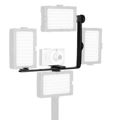 Holders - walimex Auxiliary Corner Bracket for Video Light - quick order from manufacturer