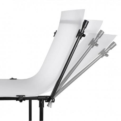Priekšmetu foto galdi - Walimex prieksmetu galds basic L 200x100cm 15763 - ātri pasūtīt no ražotāja
