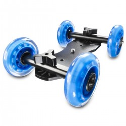 Video rails - walimex pro DSLR Dolly Mini Quad - quick order from manufacturer